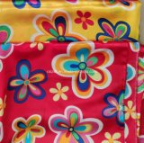 Polyester Woven Satin Fabrics Cloth Printed Silkiness Smooth and Shinning