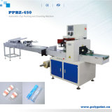 Automatic OPP PE Film Sealing Disposable Plastic Coffee Cup Flow Counting Packing Machine