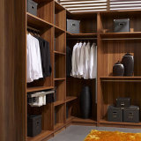 Bedroom /Cloakroom Furniture Wardrobe with Wood Gain Pantry Cabinet Closet