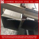 Square Rectangular Box Section Round Black Galvanized Steel Pipe