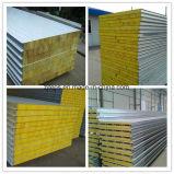 Cheap Color Steel EPS/Glass Wool/Rock Wool Sandwich Panel for Wall/Roof