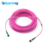 MPO/MTP Patchcord Cable Assemblies MPO Fanout Cable Pink Color