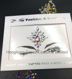 Hongkong Topaz Supplier Professional Skin Safe Eye Stickers Face Tatto Stickers (E41)