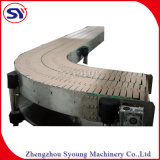 Stainless Steel Slat Chain Conveyor for Beverage Industry
