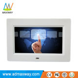 "Programmable Android Touch Screen 7"" Digital Picture Frame with Video Loop (MW-077TWDPF)"