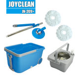 Joyclean New Spin Mop with Big Wheels and Handle
