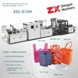 Environmental Protection Spunbond Non Woven Shopping Gift Handle Bag Making Machine for T Shirt Bag D Cut Bag Shoes Bag Making (ZXL-E700)