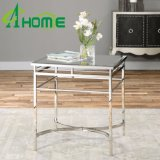 Mirrored Console Table Tea Stand Stainless Steel Furniture