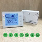 Desktop CO2 Monitor Air Quality Meter with Touch Buttons for CO2 Temperature Humidity CO2 Meter