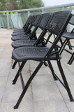 Modern Luxury Mesh Folding Plastic Chair for Outdoor and Indoor
