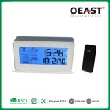 RF433 Multi Functions 5 Daysa Weather Station with Blue Back Light with Rcc Clock Ot1003FC1