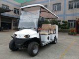 2 Seater High Performance Aluminium Chassis Electric Ambulance Car with Removable Stretcher