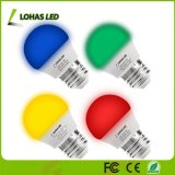 Hot G14 E26 25W Equivalent (3W) Yellow/Blue/Green/Red Light LED Bulb for Decorative