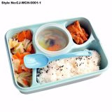 Cartoon School Student Microwavable Plastic Lunch Box