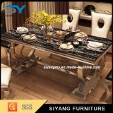 Wholesale Metal Furniture Dining Room Table Banquet Table Dining Table