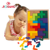 Intelligent Classic Wooden Tetris Puzzle Game Kids Toys (GM-021)