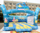 New Design Inflatable Bumper Bouncer with Spongbob Drawing