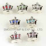 DIY Crown Silver Bracelets Accessories Components Beads Parts Vintage Jewelry