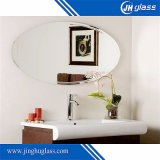 Oval Shape Beveled Mirror for Bathroom Decoration