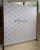 8' X 8' Cheap Repeat Logo Adjustable Backdrop Banner Display