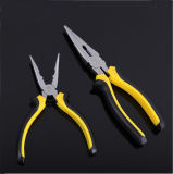 Fine Polished Classic Handle Multi-Use Long Nose Plier, Nipper Plier