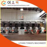 Wood Waste Straw Rice Husk Pellet Production Machine Line Price