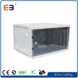 19′′ Wall Mounted Rack Full Glass Door Soho Server Rack Factory Cabinet