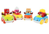 Plastic Car Toy Friction Cartoon Car (H2162080)