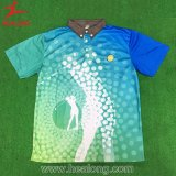 Healong Unique Design Apparel Sublimation Ladies Polo Shirt