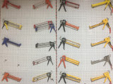 9'', 15''thick Aluminum Cylinder Type Sealant Gun Spray Gun Silicone Gun Glue Gun Calking Gun (TCG0110)