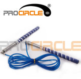 Adjustable Fitness Cable Rope Aluminum Handle Jump Rope (PC-JR1099)