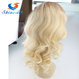 Ombre Color Brazilian Full Front Lace Wig Straight Hair Weft
