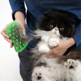 Sy09-05-003 Rubber Pet Grooming Massage Dog Cleaning Brush