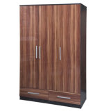 2017 Bedroom Furniture Customized Wooden Wardrobe