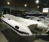 Liya 4.2m Rigid Inflatable Boat 7 Persons Open Sea Boat