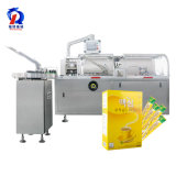 120 Horizontal Automatic Pillow Bag Condom Pill Sachet Box Carton Packing Packaging Machinery Cartoning Machine