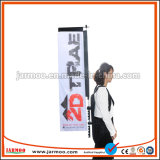 Cheap Customized Promotion Activity Backpack Banner Backpack Flag