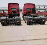 Used Flatbed Trailers 40FT 2 3 Axle Flatbed Semi Truck Trailer/ HOWO Tractor Truck Trailers