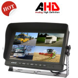 9 Inch LCD Ahd Car Monitor Split Screen Quad 4 Channel Car Headrest Rearview Monitor