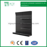 Hardware and Tools Shelf Display Rack with Perforated Back Panel with Round Holes