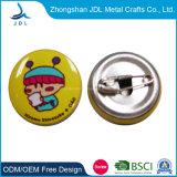 Wholesale Cheap Customized Logo Metal Police Military Emblem Name Tin Button Badge Lapel Pin Tin Button Badge with Safety Pin (24)