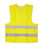 China Wholesale Cheap Reflective 120g Construction Fabric Safety Vest Clothing