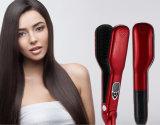 Electric Thermic Hairdressing Apparatus Nesoi Steam Hair Straightener Brush