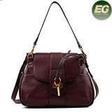 New Style Handbags Italian Leather Key Opening Design Shopping Bags Emg4894