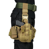 Outdoor Combined Molle Tactical Drop Leg Holster Oxford Gun Police Pistol Holster Tactical Gear
