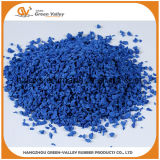 ISO9001 Safety EPDM Rubber Granules EPDM Chips for Play Area Surface