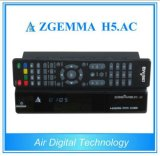 Digital TV Receiver H. 265/Hevc DVB-S2+ATSC Twin Tuners Zgemma H5. AC for Mexico/America