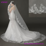 Bridal Wedding Headpiece, Beaded Face Veil with Lace Hot Sale Beaded Wedding Accessories Veil