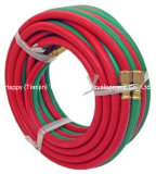 PVC Twin Welding Pipe Oxygen Tubing Acetylene Pipe with Red and Green Color