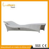 PE Rattan Balcony Leisure Hotel Pool Wicker Chair Lounger Lying Bed